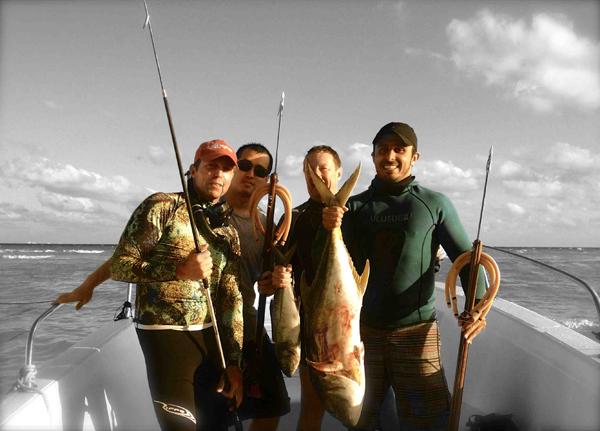 Brazil Style Spearfishing