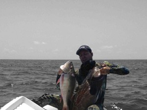 Grouper and Snapper PoleSpear Fishing