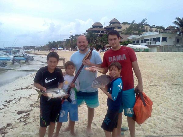 Spearfishing-Horse-Eye-Jack-in-Playa-del-Carmen