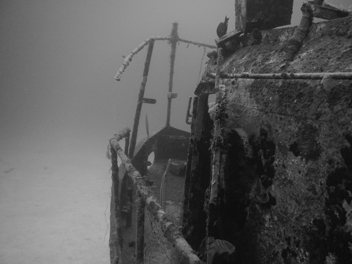 Cancun shipwreck