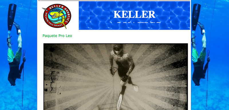 Keller Pole Spears – Leo Pro Package