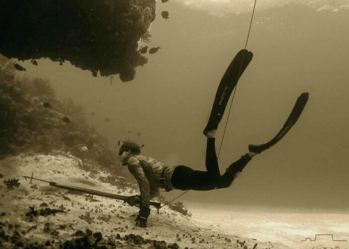 riffe freediving fins rental