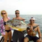 Isla Mujeres Spearfishing Family