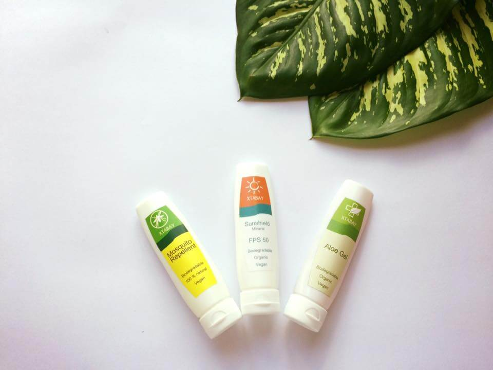 Biodegradable sunscreen Xtabay