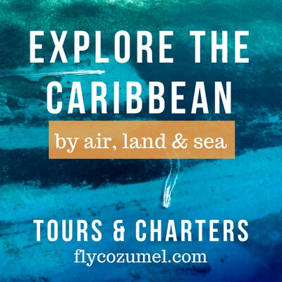 Cozumel excursions by plane Fly Cozumel