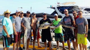 spearfishing customers cancun