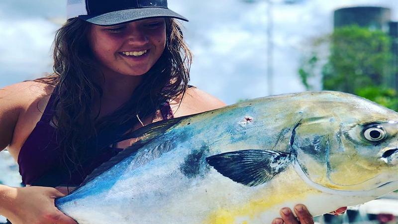 Lady DeepSea Fishing Cozumel
