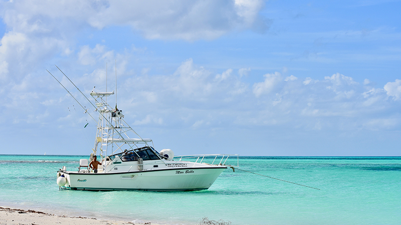 Deep Sea Fishing Boat El cielo Cozumel