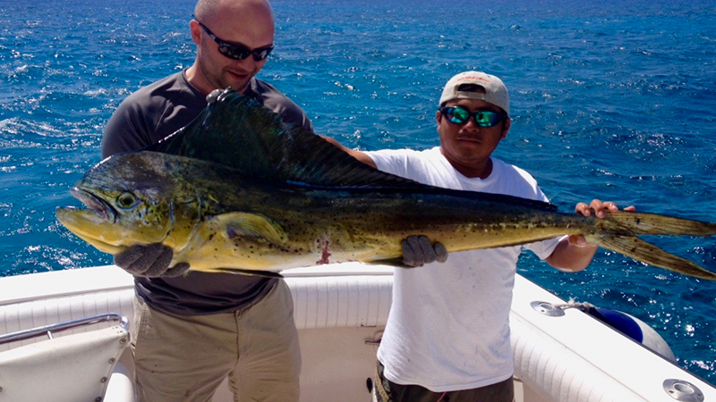 Deep Sea Fishing Catch Cozumel