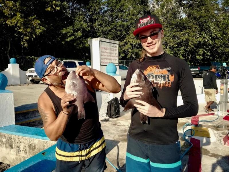 Spearfishing Cozumel